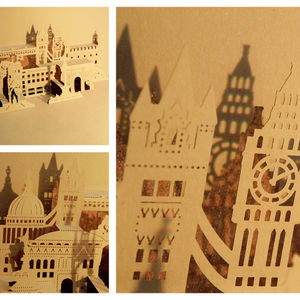 Papershaper london montage